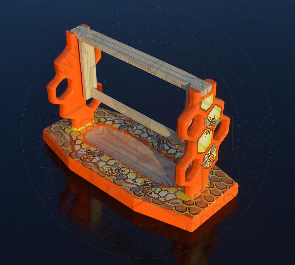 Сервировочный стол для мини Альпийской рамки соты и пчёлы